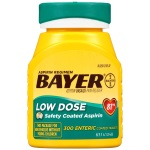 Bayer Aspirin Regimen, Low Dose (81mg) 止痛藥 (300粒)