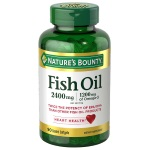 Nature's Bounty Fish Oil 2400mg 魚油 (90粒)